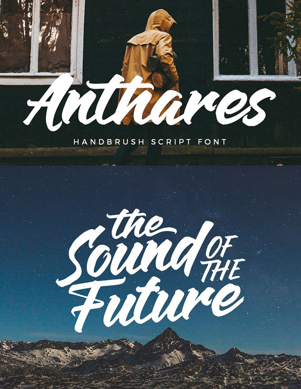 Anthares Free Font