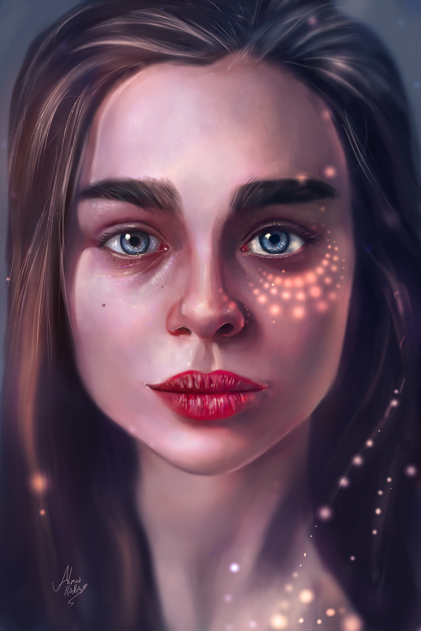 Remarkable Digital Illustrations and Painting Art by Ahmed Karam - 1
