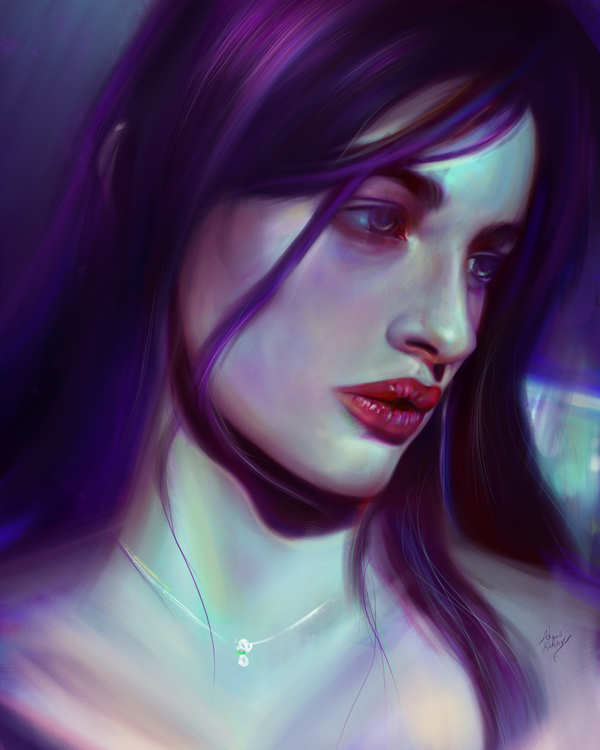 Remarkable Digital Illustrations and Painting Art by Ahmed Karam - 13