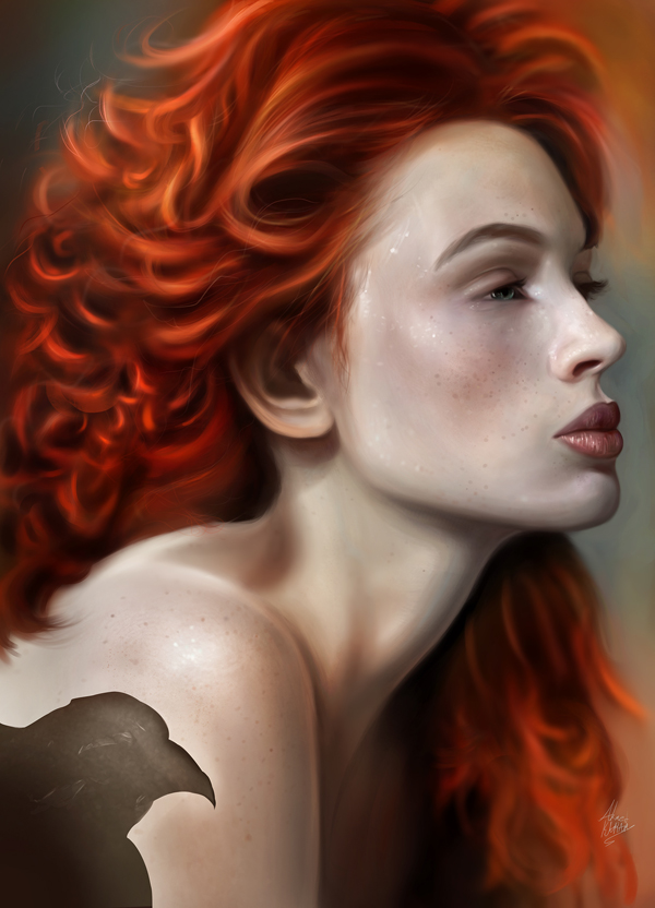 Remarkable Digital Illustrations and Painting Art by Ahmed Karam - 17