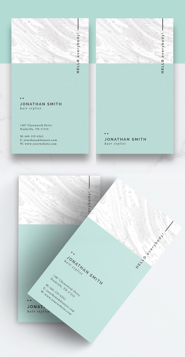 Clean and Minimal Business Card