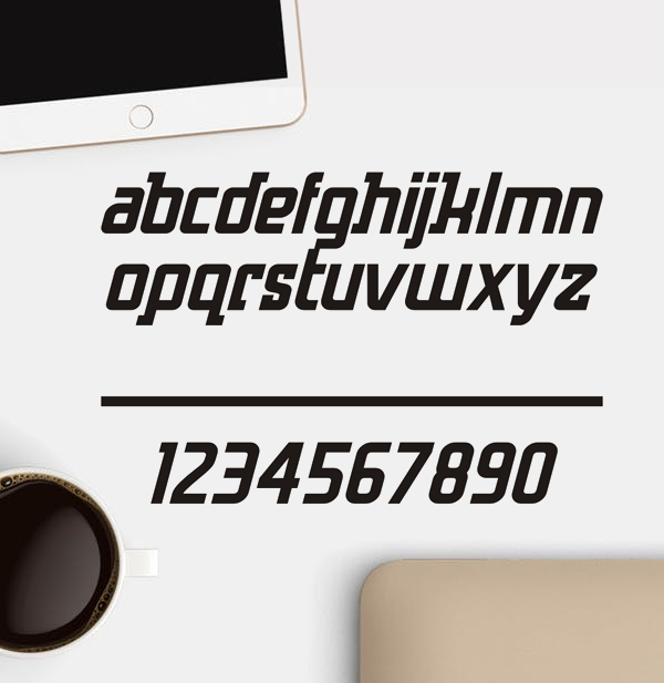 Hero Free Font Letters