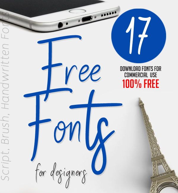 17 Fresh Free Fonts for Graphic Designers