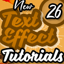 Post thumbnail of New Text Effect Photoshop and Illustrator Tutorials (26 Tuts)