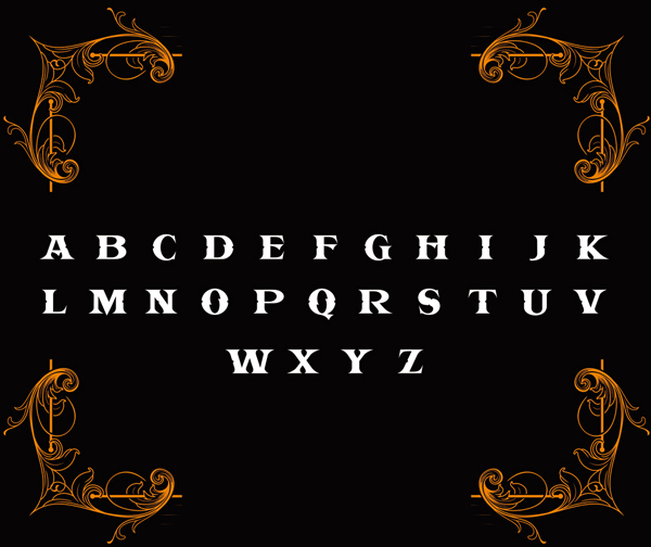 Kidcool Dragon Font Letters