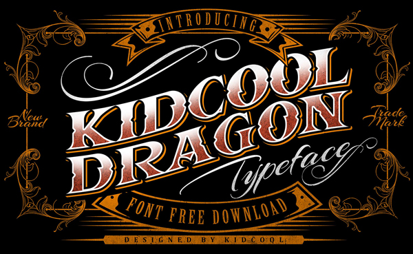 Kidcool Dragon Free Font