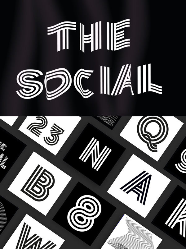 The Social Free Font