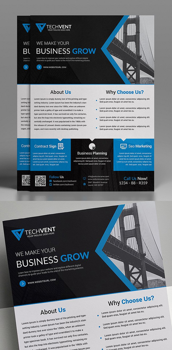Real Estate Corporate Flyer Template