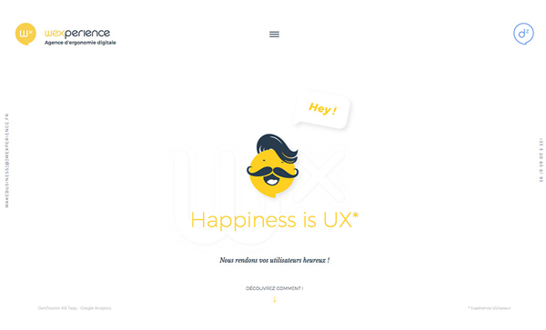 Web Design Agencies Websites – 27 Interactive Examples - 13