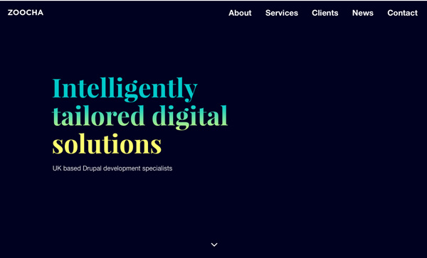 Web Design Agencies Websites – 27 Interactive Examples - 26