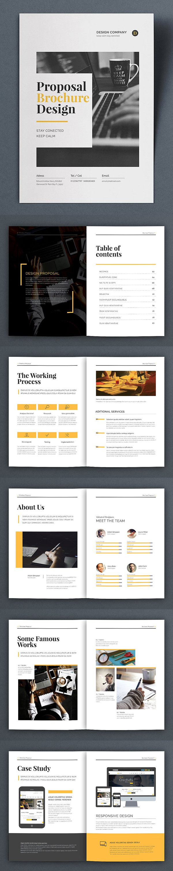 Professional Business Proposal Templates Design - 26