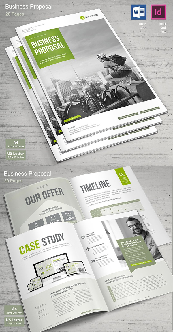 Professional Business Proposal Templates Design - 27