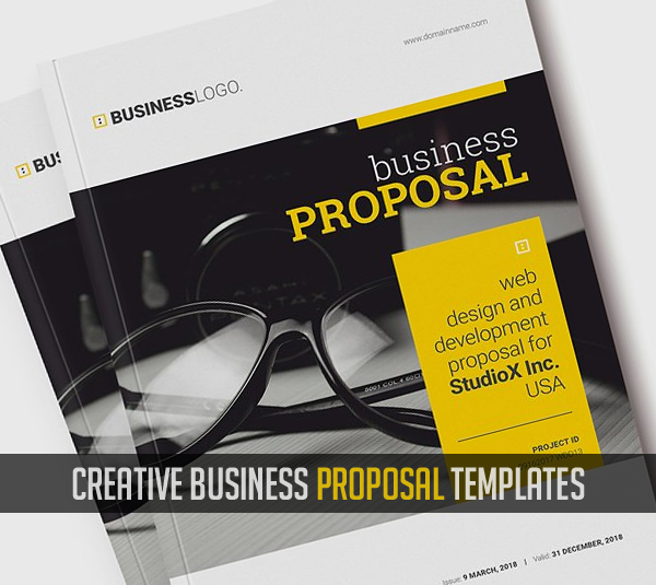 20 New Creative Business Proposal Templates