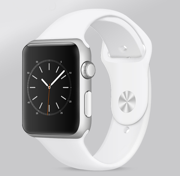 Free Realistic Apple Watch Mockup PSD