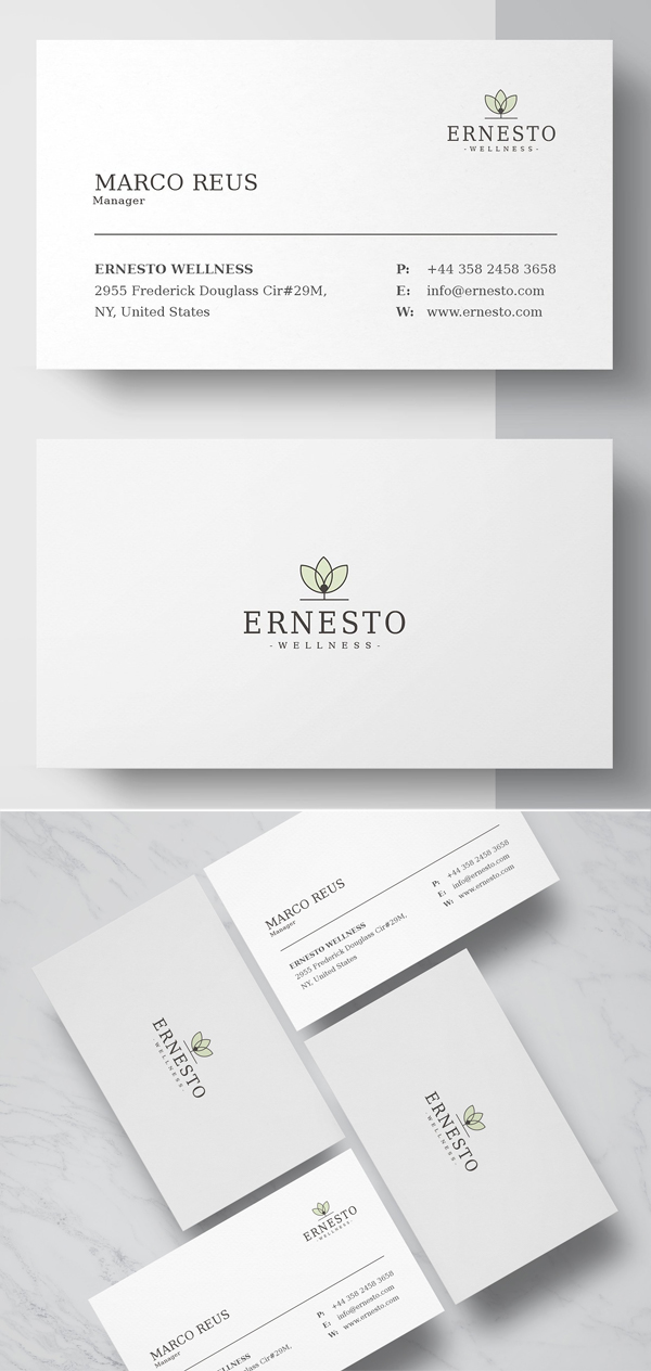Clean Business Card Template