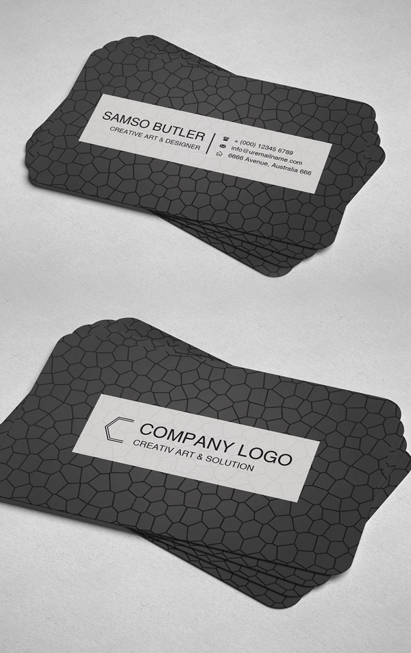 Modern Business Card Print Ready