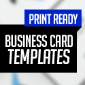 Post Thumbnail of New Business Card Templates (25 Print Ready Design)
