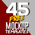 Post Thumbnail of Fresh Free PSD Mockup Templates (45 Mock-ups)