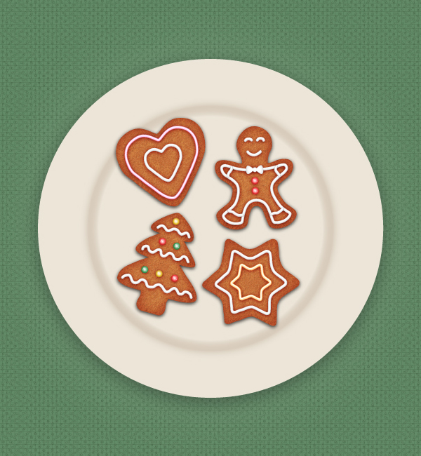 How to Draw Gingerbread Cookie Icons in Adobe Illustrator