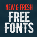 Post thumbnail of 26 New Fresh Free Fonts