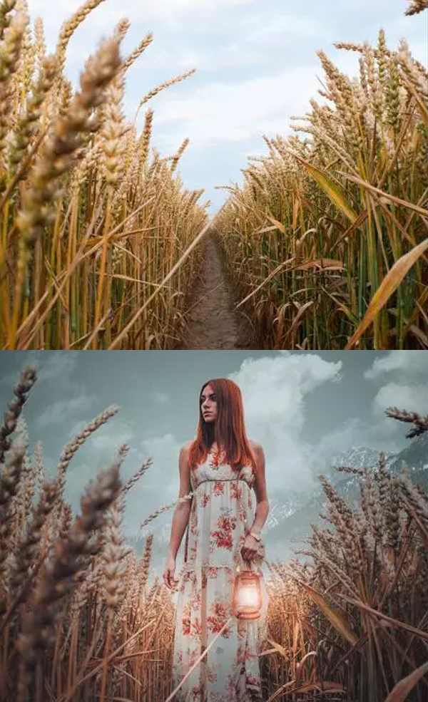 How to Create a Simple Scene in Photoshop Tutorial