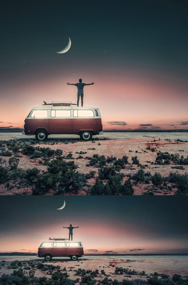 How to Create Instagram like Photo Manipulation in Photoshop