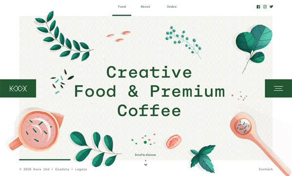 Web Design Trends 2018 : 37 New Examples - 24