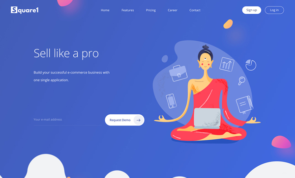 Web Design Trends 2018 : 37 New Examples - 25