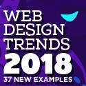 Post thumbnail of Web Design Trends 2018 – 37 New Examples