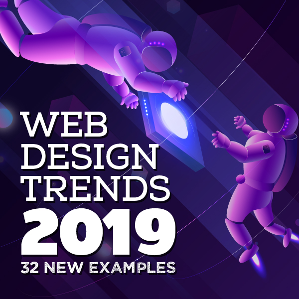 Web Design Trends 2019 – 32 New Examples