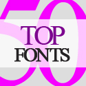 Post Thumbnail of 50 Top Fonts For Graphic Designers