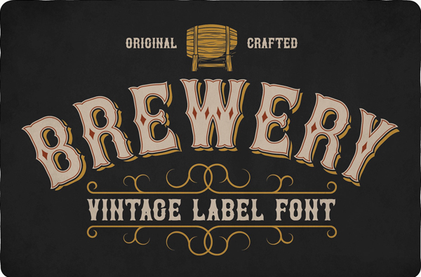 Brewery Vintage Free Font