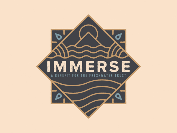 Immerse Badge by Johnny Bertram