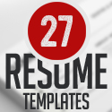 Post thumbnail of 27 Simple & Clean CV / Resume Templates with Cover Letters