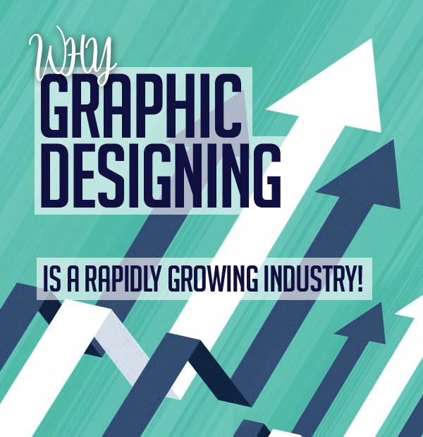 Why Graphic designing is a rapidly growing industry!