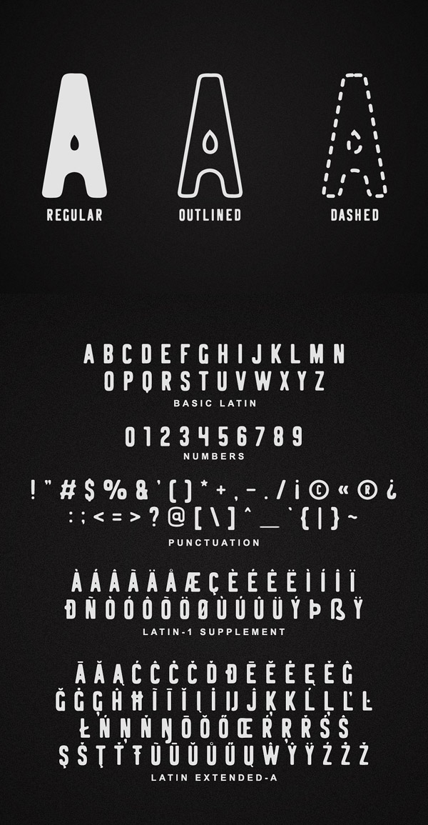 Logbond Font and Letters