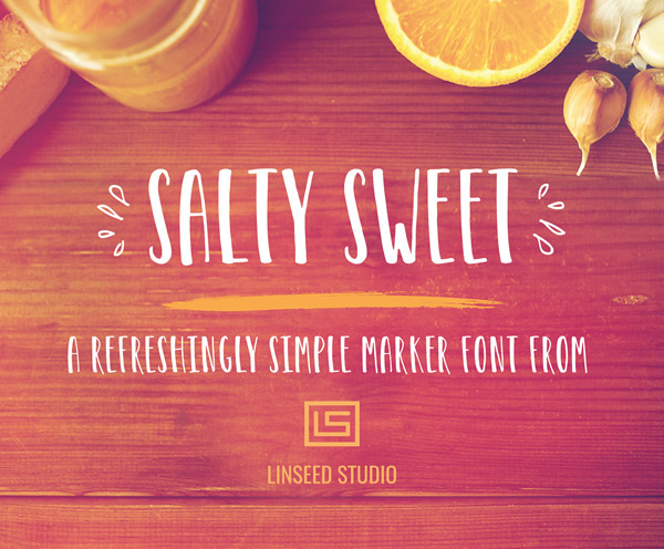 Salty Sweet Free Font