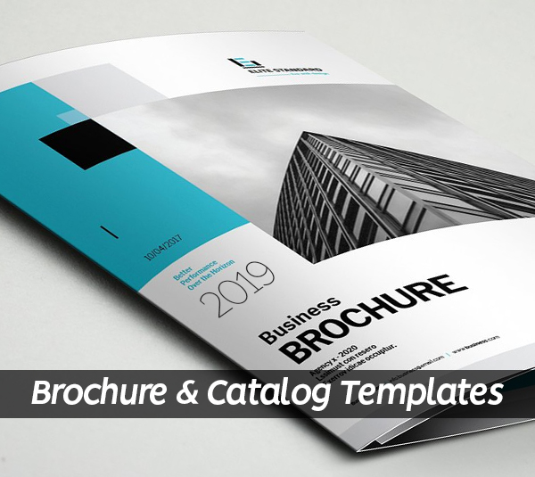 21 New Creative Brochure and Catalog Templates for Inspiration