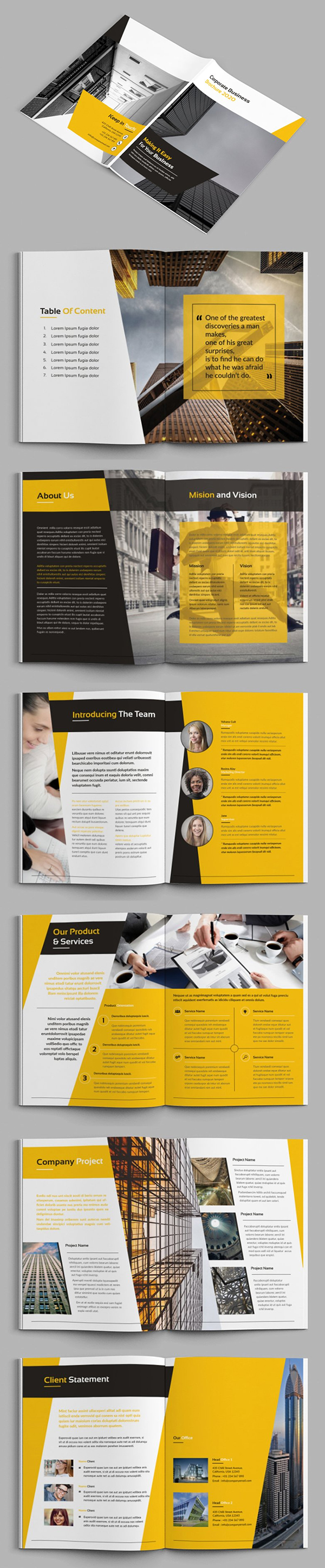 Bizpro - Business Brochure