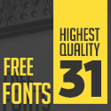 Post thumbnail of 31 Fresh Free Fonts for Graphic Designers