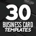 Post thumbnail of Professional Business Card Templates (30 Print Design)