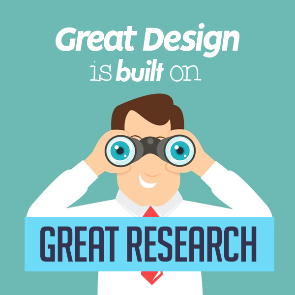 Great Design is Built on Great Research