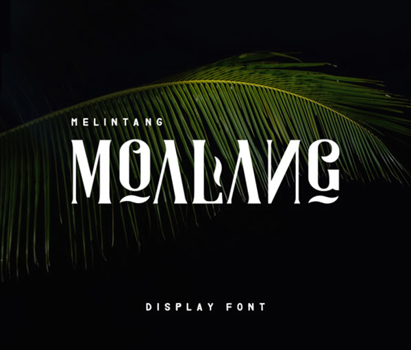 Moalang Display Free Font