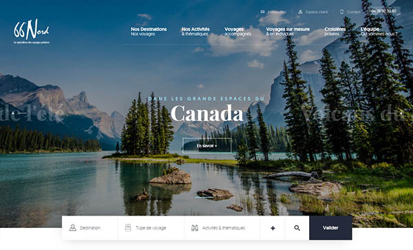 Web Design Trends 2019 - Example  10