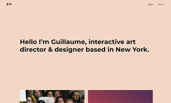 Fresh Web Design Examples That Follow New Trends - 14