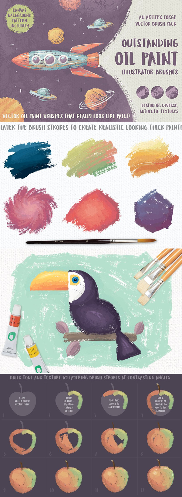Outstanding Oil Paint Brushes