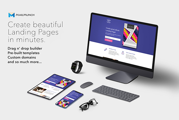 MailMunch – Create Beautiful Landing Pages