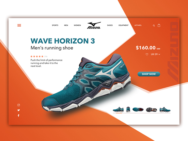 50 Modern Web UI Design Concepts with Amazing UX - 12