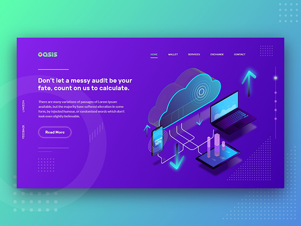 50 Modern Web UI Design Concepts with Amazing UX - 32