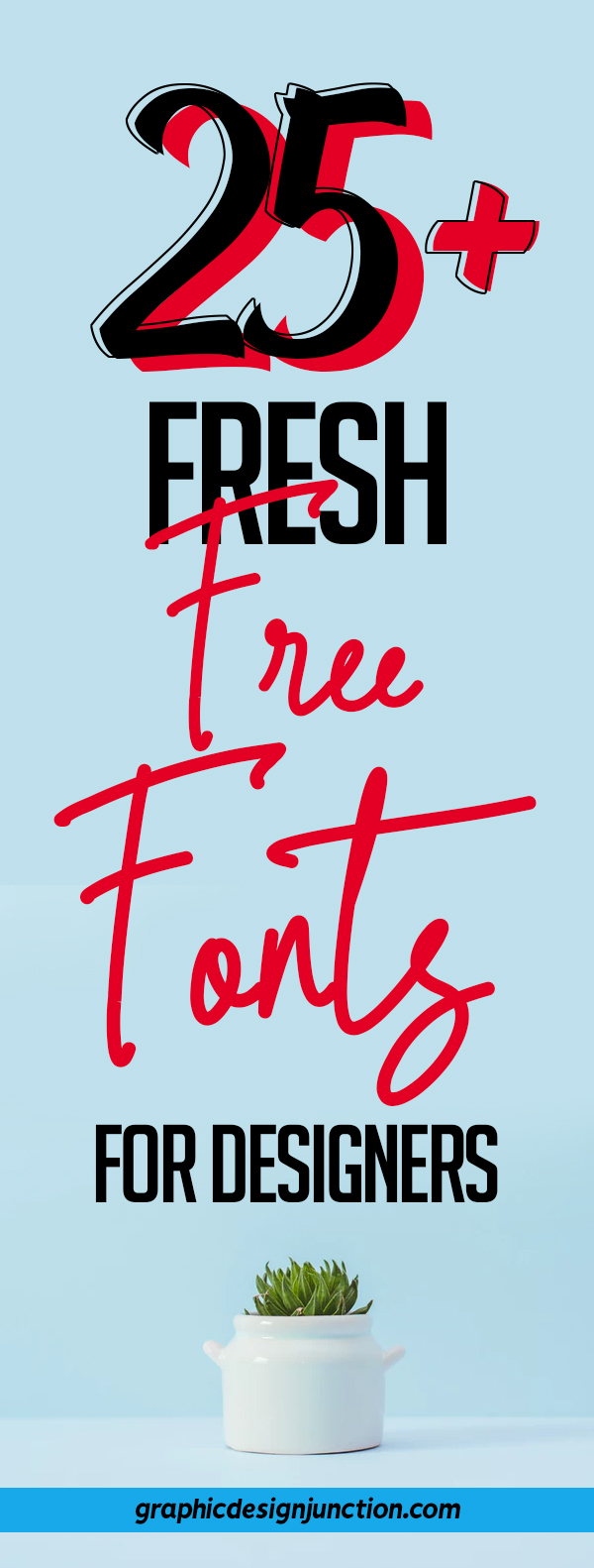25+ Freshest Free Fonts for Graphic Designers